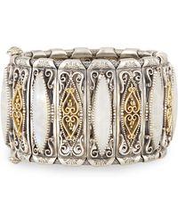 Konstantino - Erato Labrardorite Doublet Filigreed Cuff Bracelet - Lyst