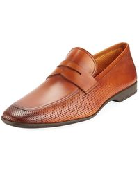 Neiman Marcus - Men's Butero Perforated Slip-on Loafer - Lyst