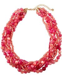 Lydell NYC - Multi-strand Torsade Necklace - Lyst