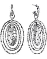 John Hardy - Kali Zen Multi-tier Hoop Earrings - Lyst