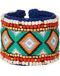 Panacea - Multicolor Cuff Bracelet - Lyst