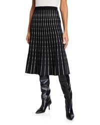 Max Studio Sweater-knit Skirt - Black