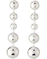 Ippolita - Classico Long Graduated Ball Earrings - Lyst