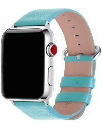 Olivia Pratt Leather Strap For Apple Watch -38mm - Multicolor