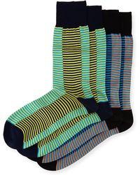 Punto | Two-pair Striped Socks | Lyst