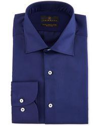 Ike Behar - Men's Solid Dress Shirt - Lyst