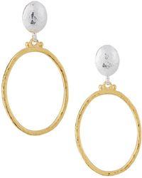 Gurhan - Hoopla Round Drop Earrings - Lyst