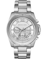 MICHAEL Michael Kors - Men's 44mm Brecken Watch W/ Bracelet Strap - Lyst