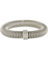 Alor Kai Coiled Bracelet Silver - Metallic