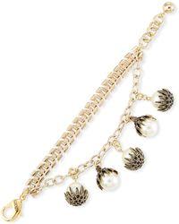 Lulu Frost Paloma Pearly Link Bracelet - Metallic