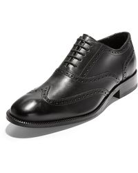 Cole Haan Men's Williams Leather Wingtip Oxfords - Black