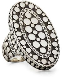 John Hardy - Oval Dot Ring Size 7 - Lyst