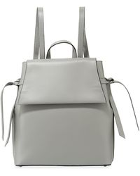 Neiman Marcus - Smooth Leather Backpack - Lyst