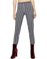 BCBGeneration - Straight-leg Cropped Trousers - Lyst