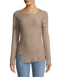 Metric Knits - Ottoman Jagged-Hem Pullover Sweater - Lyst