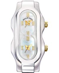 Philip Stein - Stainless Steel Mini Signature Three-hand Watch Head - Lyst