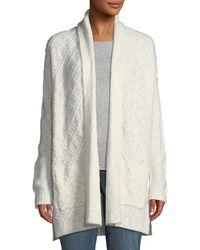 NYDJ - Novelty Knit Cardigan Sweater - Lyst