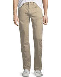 5a72bd7d Joe's Jeans The Soder Spectrum Colors Pants in Natural for Men - Lyst