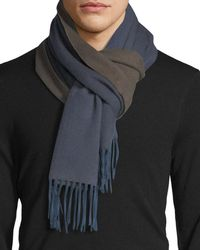 Begg & Co - Arran Semi-reversible Cashmere Scarf - Lyst