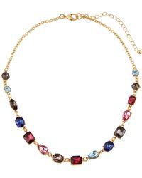 Fragments - Multicolor & Mixed-cut Stone Necklace - Lyst