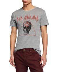 Chaser - Men's Def Leppard Skull Graphic-print T-shirt - Lyst