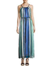 Cheetah b blue dress 70