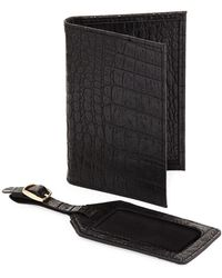e33a50670d7e Michael Michael Kors Illustrations Luggage Tag Passport Wallet - Lyst