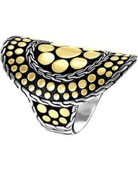 John Hardy - Dot Nuansa Curved Ring - Lyst
