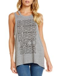 Chaser - Beer Taco Muscle Tee - Lyst