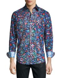 Robert Graham - Classic-fit Sibley Abstract-print Sport Shirt - Lyst