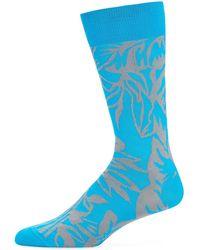 Bugatchi - Men's Abstract Pattern Socks - Lyst