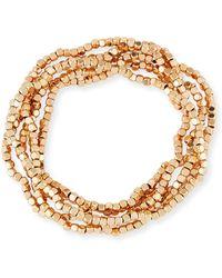 Panacea - Beaded Multi-row Bracelet - Lyst