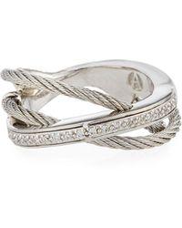 Alor | Layered Triple-band Diamond Ring | Lyst