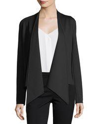 Neiman Marcus - Cascade-collar Knit Cardigan - Lyst