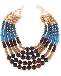 Akola - Five-strand Beaded Necklace - Lyst