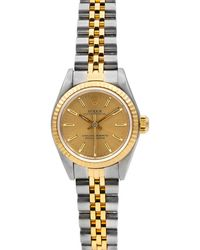 Rolex - Pre-owned 36mm Oyster Perpetual Bracelet Watch - Lyst