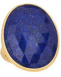 Marco Bicego - 18k Large Lapis Ring - Lyst