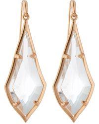Kendra Scott Olivia Drop Earrings Clear - Multicolour