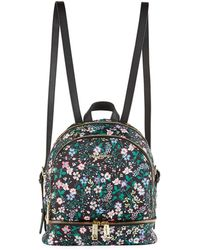 Karl Lagerfeld - Cara Floral-print Nylon Backpack Bag - Lyst