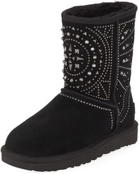UGG - Fiore Deco Studded Booties - Lyst