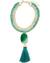 Panacea - Statement Pendant Collar Necklace - Lyst