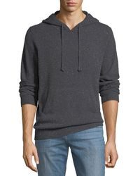 Neiman Marcus - Men's Marled Cashmere Hoodie - Lyst