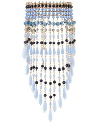 Lydell NYC - Multi-drop Choker Bib Necklace - Lyst
