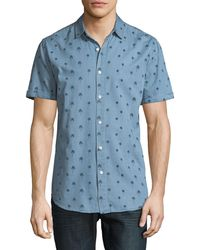 Sovereign Code - Men's Misty Short-sleeve Chambray Sport Shirt - Lyst