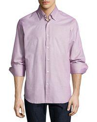 Neiman Marcus - Tight Circle Sport Shirt - Lyst