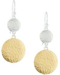 Gurhan - Lush Double-drop Earrings - Lyst