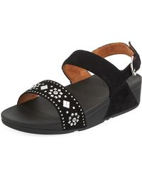 Fitflop - Lulu Studded Thong Sandal - Lyst