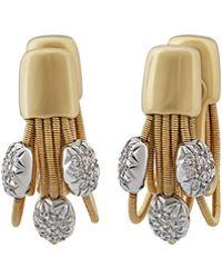 Marco Bicego - 18k Multi-strand Diamond Earrings - Lyst
