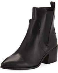 Elie Tahari - Resist Double-gore Western Boots - Lyst