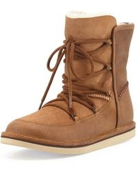 41ffacc5bf2 UGG Cali Moc Campfire (chestnut) Women's Boots in Brown - Lyst